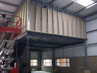 about us and our mezzanine floors